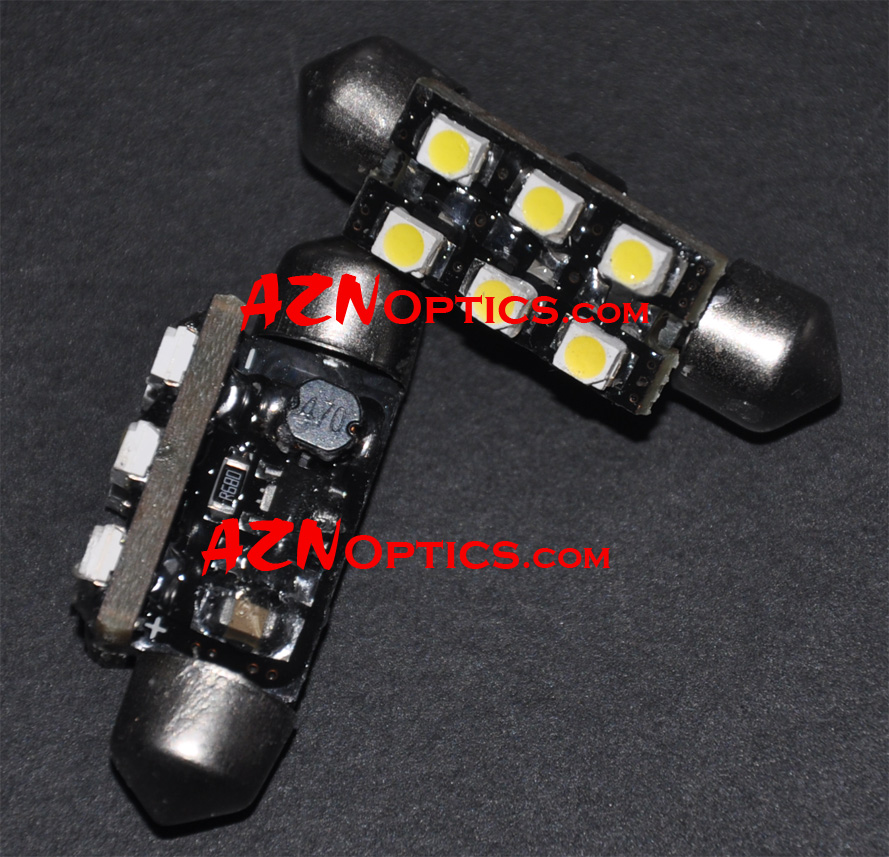 6411/ 6413/ 6418/ C6W LED 38mm (4300K) - Click Image to Close